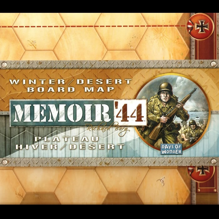 Memoir 44: Winter/ Desert Board Map