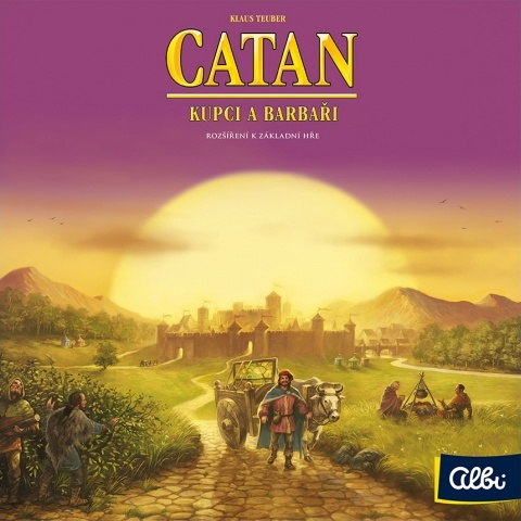 Catan: Kupci a barbaři
