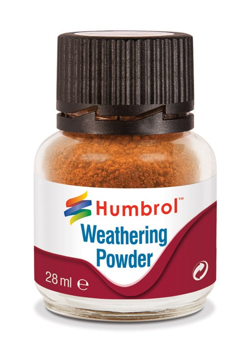 Humbrol Weathering Powder Rust - efekt rzi 28ml
