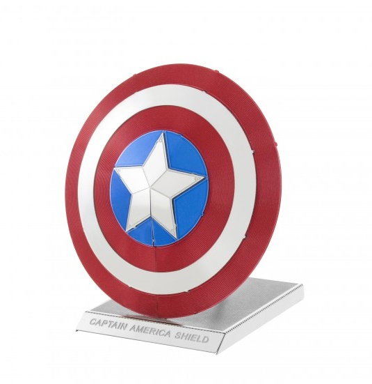 Metal Earth: Marvel - Captain America Shield