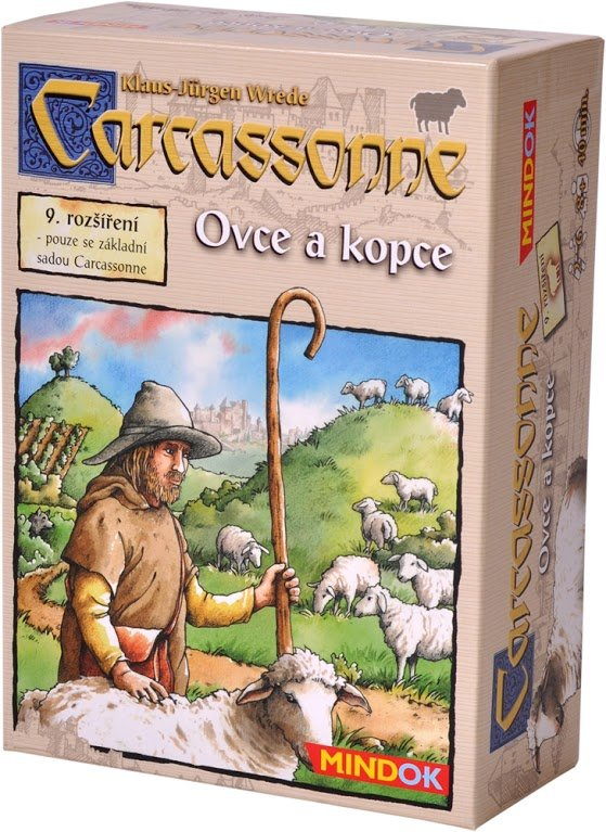 Carcassonne 9: Ovce a kopce