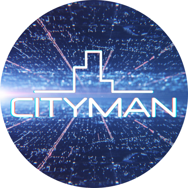 CityMan placka 55mm