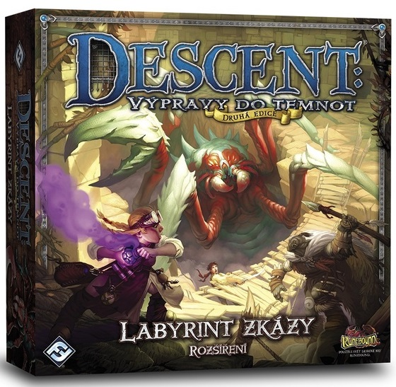 Descent: Labyrint zkázy 2. edice