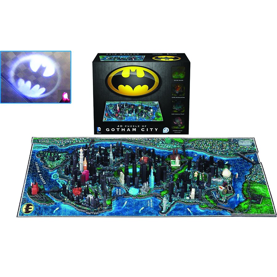 Batman 4D Puzzle: Gotham City