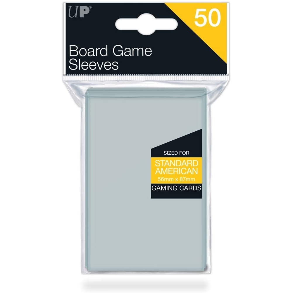 Ultra PRO 50 Board Game Sleeves 56x87mm American Standard