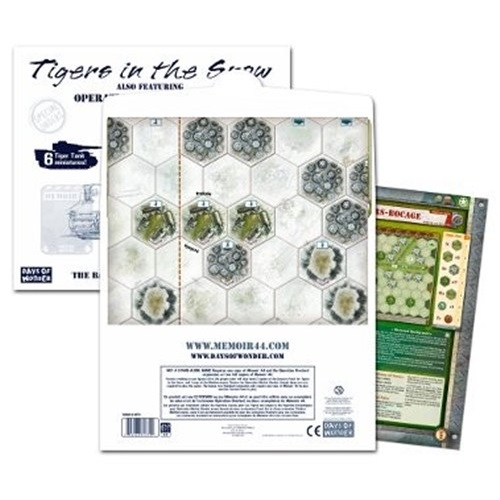 Memoir '44: Battle Map 2 - Tigers in the Snow
