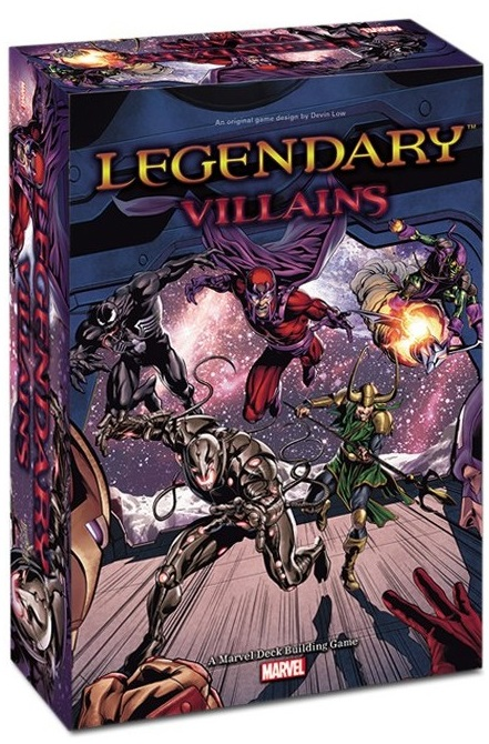 Legendary Villains: A Marvel Deck Building Game