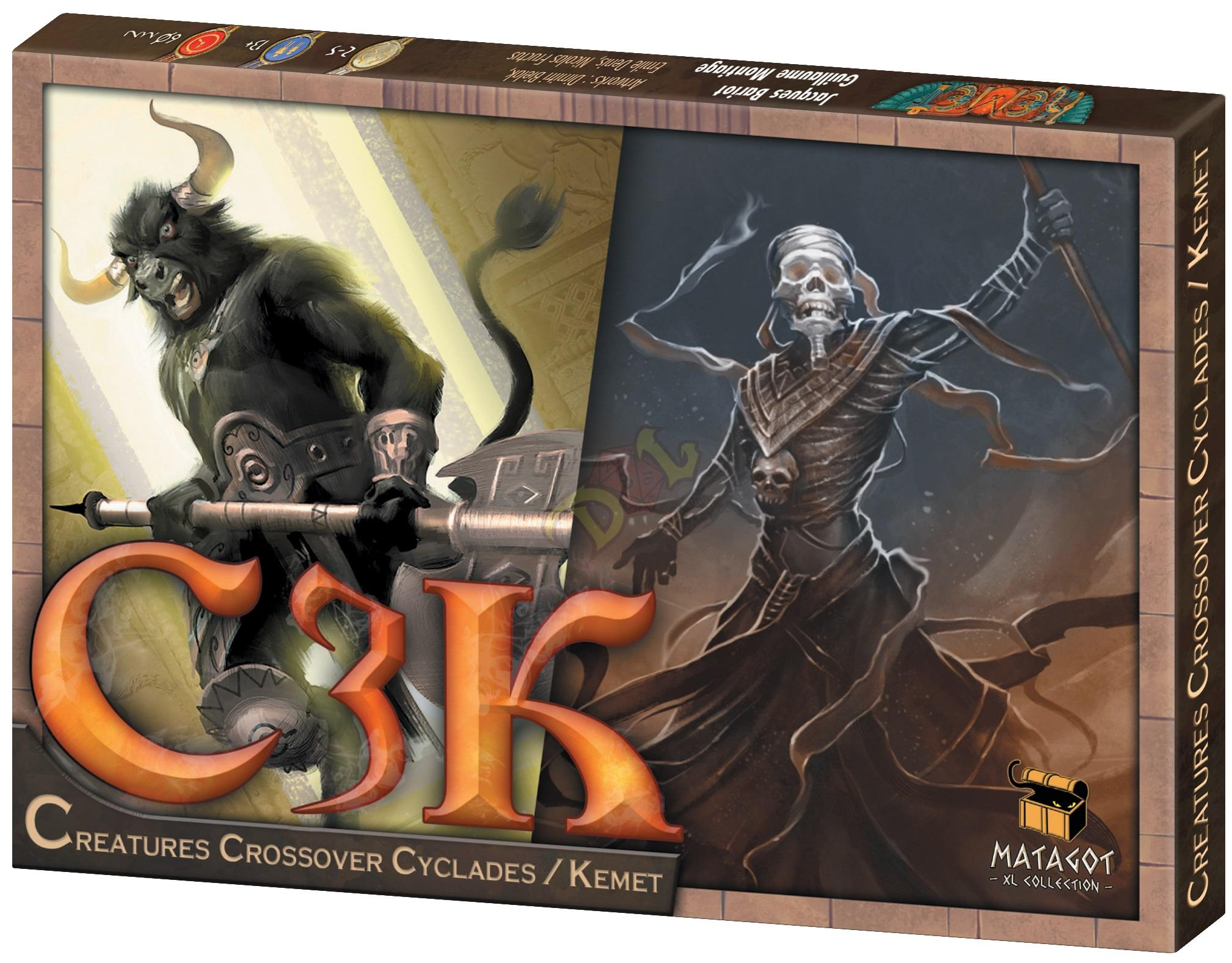 Creatures Crossover Cyclades/Kemet