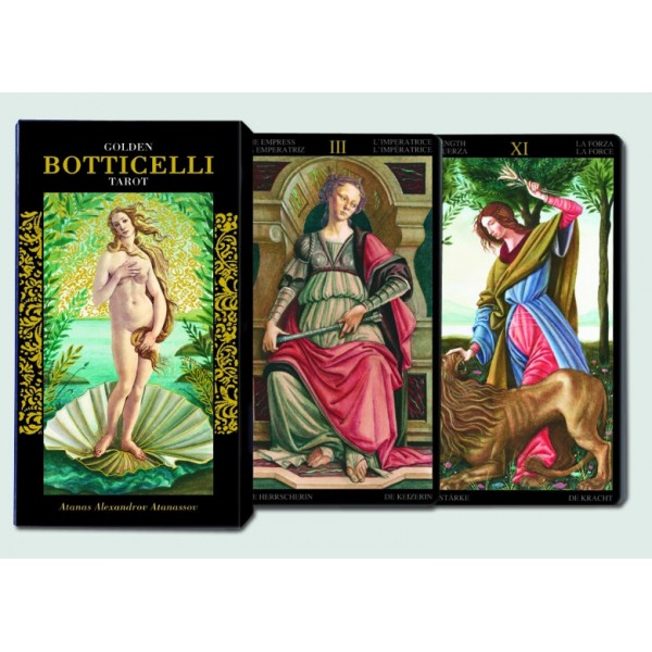 Goldes Botticelli Tarot