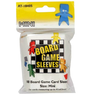 Board Games Sleeves - 100 Mini Size 41x63mm