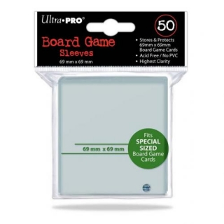 Ultra PRO 50 Board Game Sleeves 69x69mm