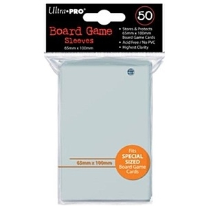 Ultra PRO 50 Board Game Sleeves 65x100mm