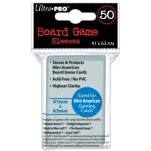 Ultra PRO 50 Board Game Sleeves 41x63mm