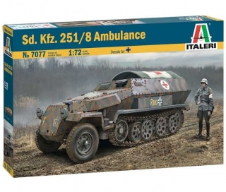 Sd.Kfz. 251/8 Ambulance (1:72)