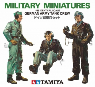 German Army Tank Crew (1:35)