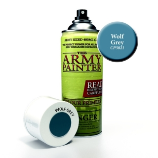 The Army Painter - Colour Primer: Wolf Grey (400ml)