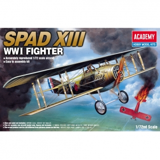 Spad XIII - WWI Fighter (1:72)