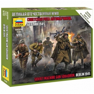 Soviet Machine Gun Squadron - Berlin 1945 (1:72)