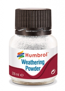 Humbrol Weathering Powder White - bílý efekt 28ml