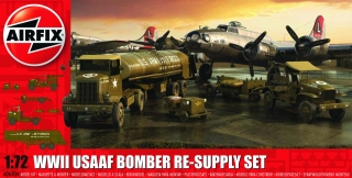 USAAF 8TH Airforce Bomber Resupply Set (1:72)