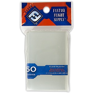 FFG 50 Clear Sleeves - Mini European Board Game