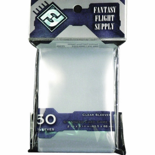 FFG 50 Clear Sleeves - Standard Card Game
