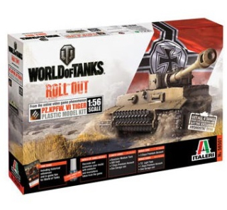 World of Tanks - Pz.Kpfw. VI Tiger (1:56)