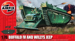 Buffalo IV and Willys Jeep (1:76)