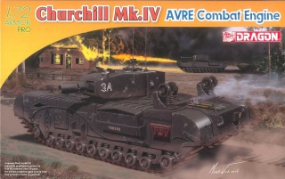 Churchill Mk. IV AVRE Combat Engine (1:72)