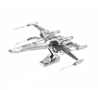 Metal Earth: Star Wars - Poe Dameron's X-Wing Fighter