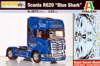 "Scania R620 ""Blue Shark"""