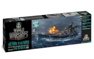 World of Warships IJN Atago (1:700)