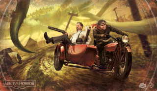 Arkham Horror: Narrow Escape Playmat