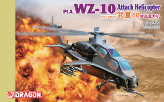 PLA WZ-10 Attack Helicopter (1:144)