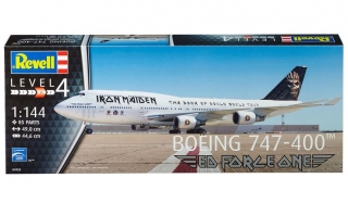 "Boeing 747-400 ""Iron Maiden"" (Ed Force One) (1:144)"