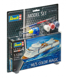 M/S Color Magic (1:1200) (ModelSet)