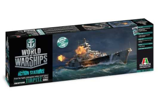 World of Warships Tirpitz (1:700)