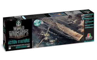 World of Warships USS Essex (1:700)