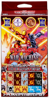 Dice Masters Iron Man and War Machine: Starter Set