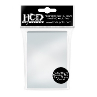 HCD - 100 Standard Sleeves 66x91mm