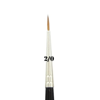 Kolinsky Red Sable Brush vel. 2/0