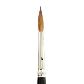 Kolinsky Red Sable Brush vel. 6