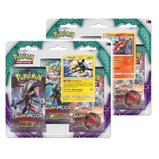 Pokémon: Sun & Moon - Guardians Rising - 3 Blister Booster