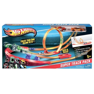 Hot Wheels Track Builder - Super dráha