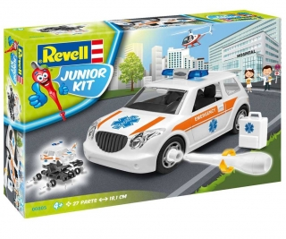 Revell Rescue Car