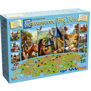 Carcassonne: Big Box /CZ/