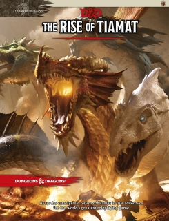Dungeons & Dragons RPG: Tyranny of Dragons-The Rise of Tiamat