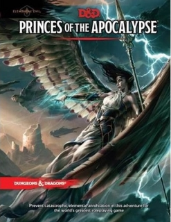 Dungeons & Dragons RPG: Elemental Evil - Princes of the Apocalypse Adventure