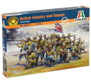 British Infantry and Sepoys (1:72)