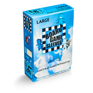 Board Games Sleeves - 50 European 59x92mm non-glare